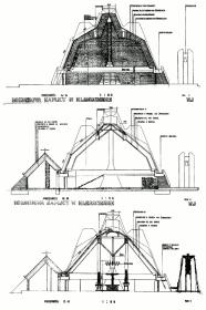 Kościół w Kleszczowie - przekroje