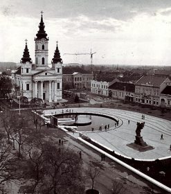 Plac Centralny w Beczeju