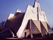 Kościół w Kleszczowie - widok zewnętrzny
